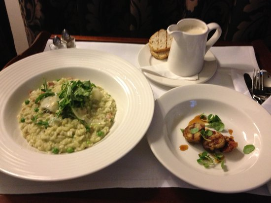 The Grosvenor Hotel: amazing room service meal