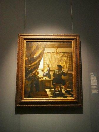 "Kunsthistorisches Museum: Johannes Vermeer  ""Die Malkunst"""