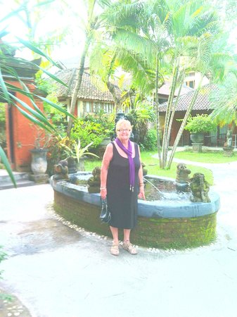 Laghawa Beach Inn : gardens.