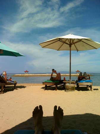 Laghawa Beach Inn: Beach cafe