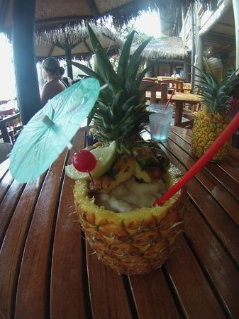 Duke's Kauai: Pineapple Drink!