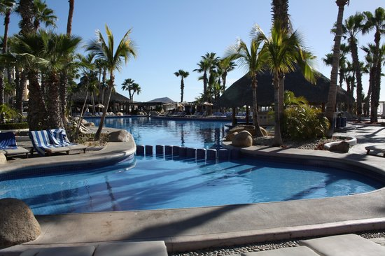 Paradisus Los Cabos: baby pool connected to main pool