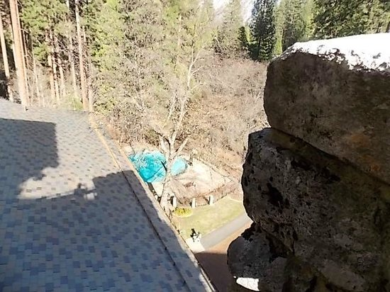 The Majestic Yosemite Hotel: room 502 view of pool