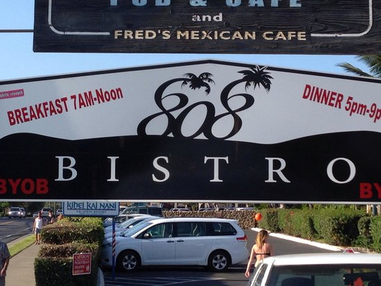 808 Bistro: Right outside
