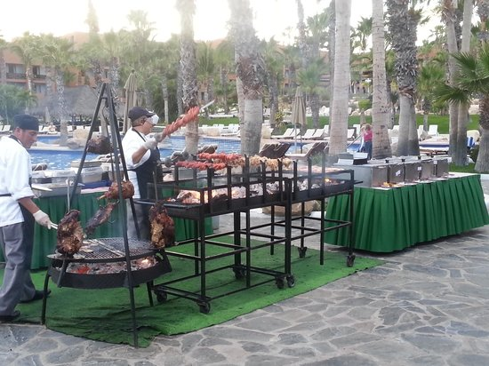 Paradisus Los Cabos: Brazilian night meat area