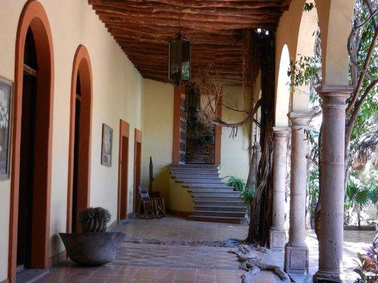 Hotel Posada del Hidalgo: Vista interior del Hotel Posada Hidalgo