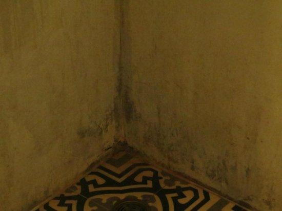 The Village Coconut Island Beach Resort: Dirty walls in Bathroom