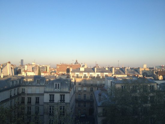 Hotel Original Paris : the view from the window