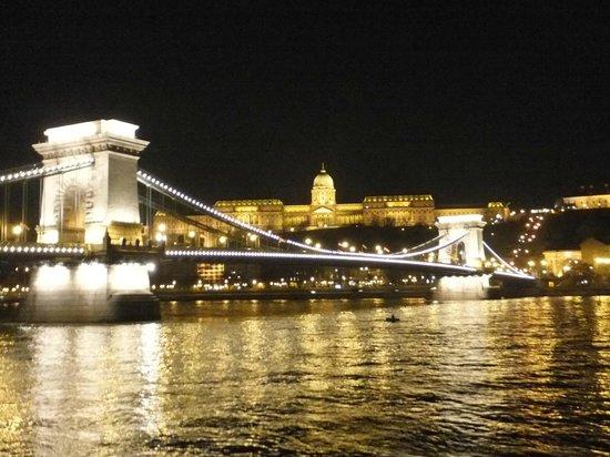 Sofitel Budapest Chain Bridge: くさり橋と王宮