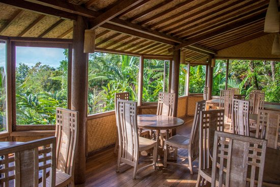 Bali Mountain Retreat: Great views from the restaurant