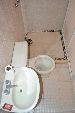 Hotel Casa Longino's: baño