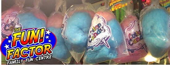 The Fun Factor Family Fun Centre - Pirates Mini Golf & Laser Tag: Cotton Candy and lots of other fun treats!