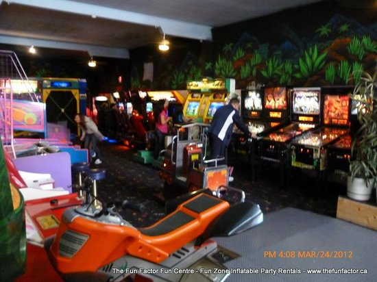 The Fun Factor Family Fun Centre - Pirates Mini Golf & Laser Tag: Huge Games area - selection always changing!