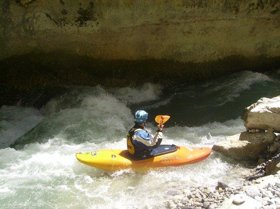 Camping La Source : kayak dans les Gorges du Verdon