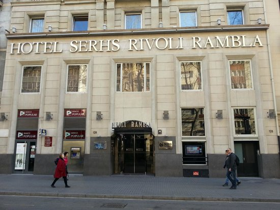 Hotel SERHS Rivoli Rambla: Отель