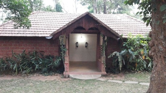 Coorg O farm: Twin cottage front view