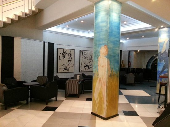 Hotel SERHS Rivoli Rambla : Холл
