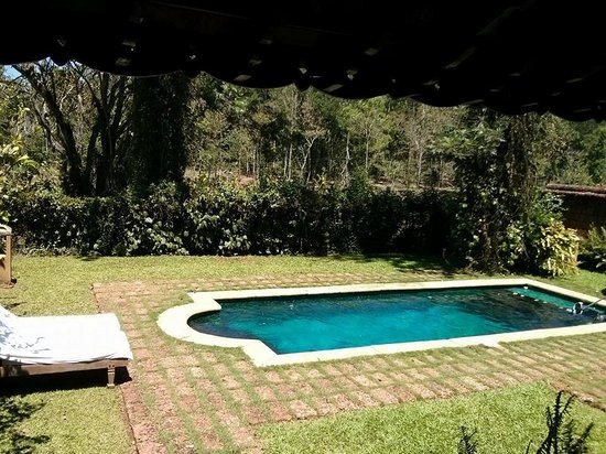 Evolve Back, Coorg: View of our private pool