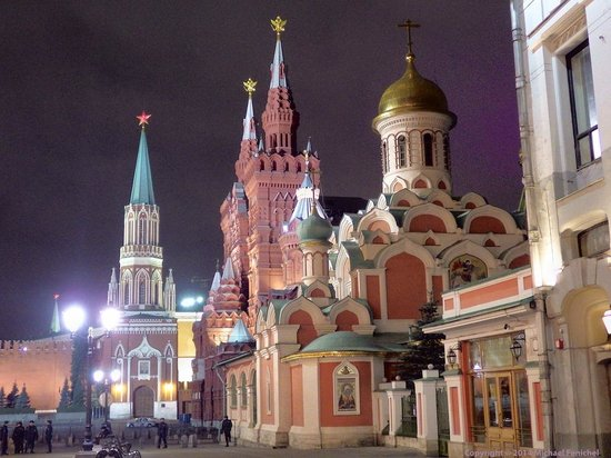 Kazan Cathedral - Red Square (Nite)