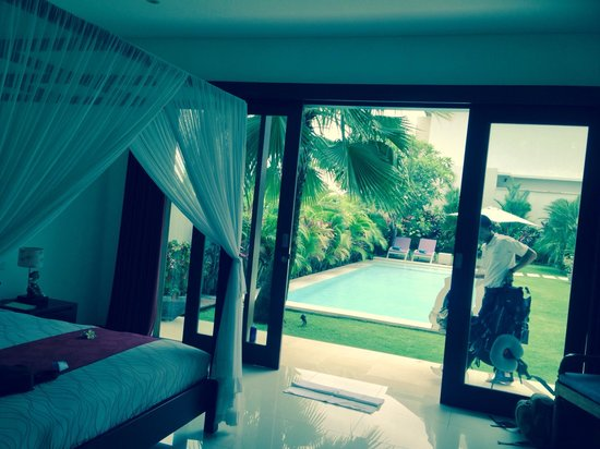 The Oshan Villas Bali : View of pool from room