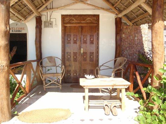 Uhuru Beach: notre petite terrasse
