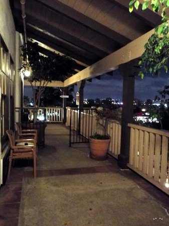 Best Western Plus Hacienda Hotel Old Town: Looking Out From 105