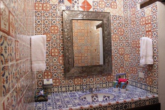 Casa Felipe Flores: Ванная