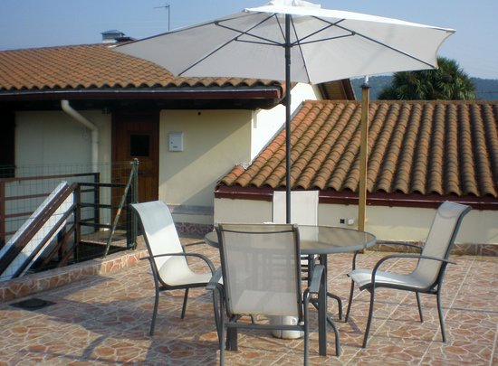 Caserio Gure Ametsa : Terraza