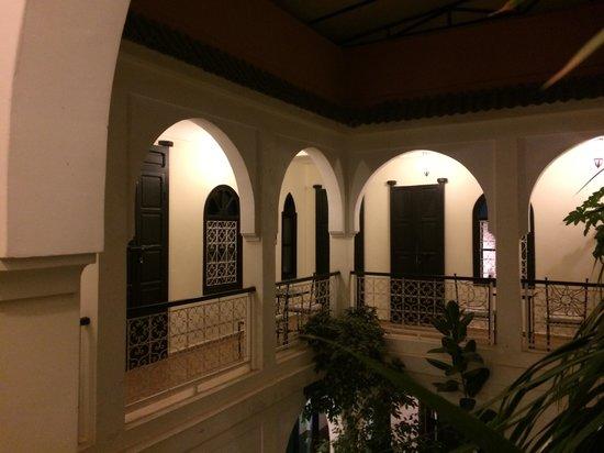 Riad Alboraq: Le premier étage, les chambres !