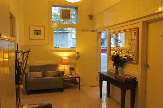Hotel Sophia: Waiting Lounge