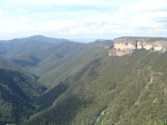 Blue Mountains, Austrália: Kanangra Walls - view from the lookout