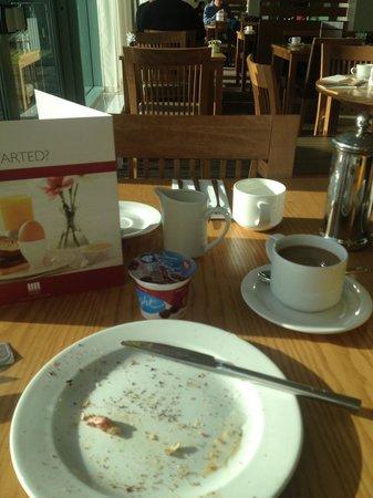 De Vere Cotswold Water Park: Breakfast all gone
