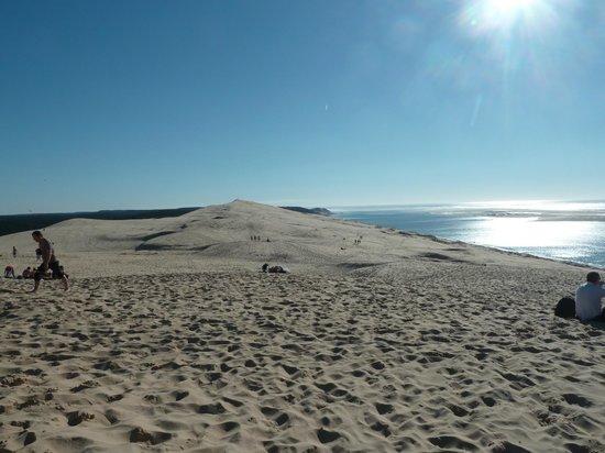 Dune du Pilat : 2.7 km de sable à parcourir