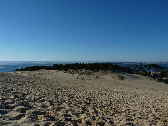 Dune du Pilat : côté bassin