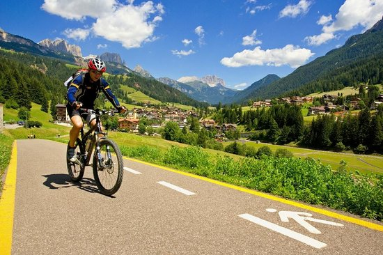 Province of Trento, Italien: Mountain bike in Val di Fassa - Soraga