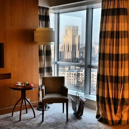 Swissotel Krasnye Holmy Moscow : Corner room