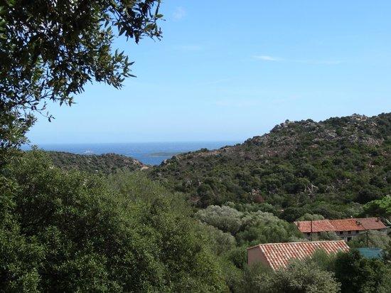 Résidence Pietra di Sole : vue de la terrasse
