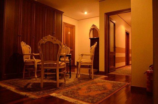 Hotel Hosteria de La Torre : Salottino