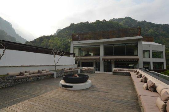 Silks Place Taroko: 頂樓