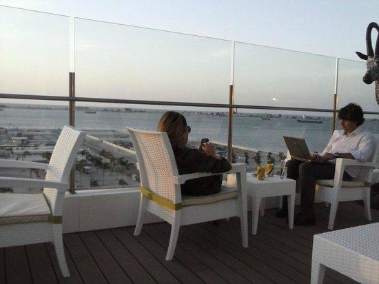 Hotel Presidente Luanda: Vista para a Ilha de Luanda