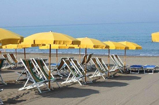 Camping Casa Di Caccia: spiaggia attrezzata