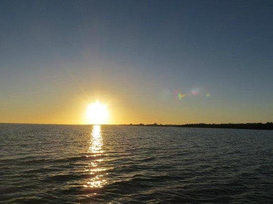Banana Bay Tour Company Day Tours: Sonnenuntergang