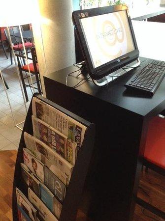 Ibis Barcelona Centro : Internet im Ibishotel