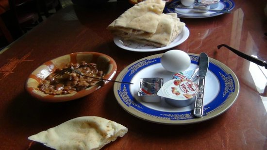 Helio Cairo Hotel : Poor breakfast