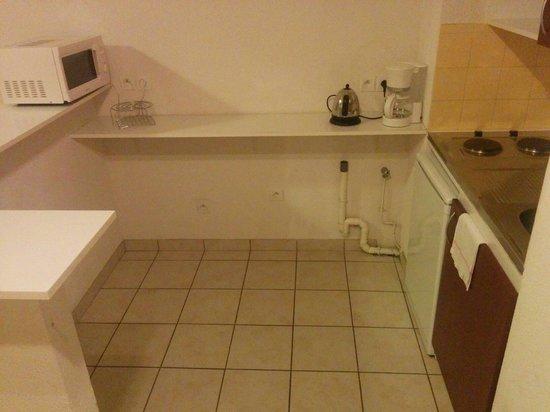 La Divonne: So was ähnliches wie eine Küche
