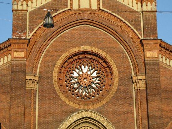 Chiesa di Santa Maria del Carmine: rosone