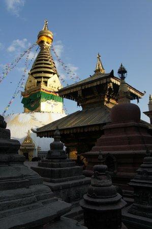 Swayambhunath-Tempelkomplex: Swayambhunath STupa