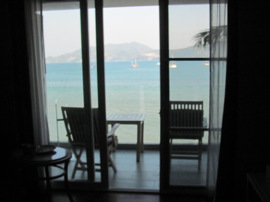 Amari Phuket: view from inside our room