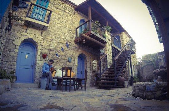 Alacati Eski Ev Hotel : Eski evin kitaplığından bir kitap seçip okuyabilirsiniz:)