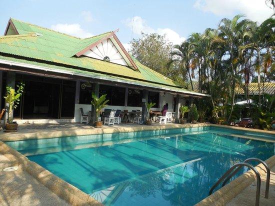 Souan Son Beach Resort & Restaurant: réception et petit déjeuner